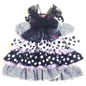Mud Pie Toddler or Baby Girl summer ruffle dress